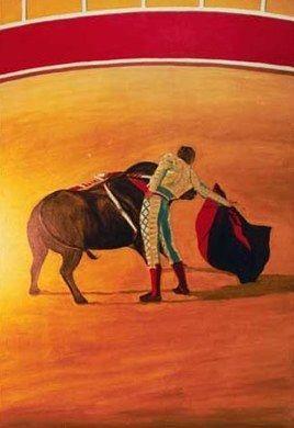 Kulissen mieten & vermieten - Spanien Torero Kulisse, Spanien, Tradition, spanisch, Stierkampf, Stier, Stierkämpfer, Torero, Kulisse, Dekoration in Kamp-Bornhofen