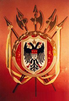 Kulissen mieten & vermieten - Köln Wappen Kulisse, Wappen, Köln, Kulisse, Kölle, Dekoration, Wappenschild, Symbol, Event, Messe, Veranstaltung in Kamp-Bornhofen