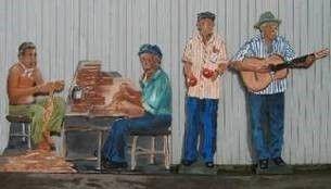 Kulissen mieten & vermieten - Brasilianische Zigarrendreher Kulisse, Zigarren, Kuba, kubanisch, Zigarrendreher, Kulisse, Brasilien, brasilianisch in Kamp-Bornhofen