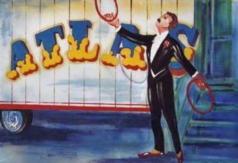 Kulissen mieten & vermieten - Zirkus Jongleur Kulisse, Zirkus, Cirkus, Jongleur, Manege, Kulisse, Spaß, Unterhaltung, Dekoration, Event, Messe in Lahnstein