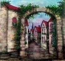 Kulissen mieten & vermieten - Grinziggasse Kulisse, Gasse, Kulisse, Altstadt, Stadt, Straße, Grinziggasse, Fachwerk, Fachwerkhaus, Dekoration in Kamp-Bornhofen