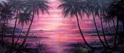 Kulissen mieten & vermieten - Rio Beach Sonnenuntergang Kulisse, Kulisse, Sonnenuntergang, Beach, Strand, Rio, Rio de Janeiro, Strandkulisse in Lahnstein