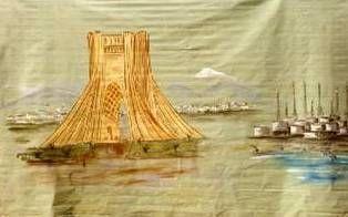 Kulissen mieten & vermieten - Iran Ölquellen Kulisse, Kulisse, Iran, Ölquelle, Öl, Ölvorkommen, Dekoration, Bohrinsel, Event, Messe, Veranstaltung in Kamp-Bornhofen