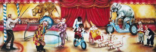 Kulissen mieten & vermieten - Zirkus Manegen Kulisse, Zirkus, Cirkus, Manege, Kulisse, Spaß, Unterhaltung, Domteur, Dekoration, Event, Messe in Lahnstein