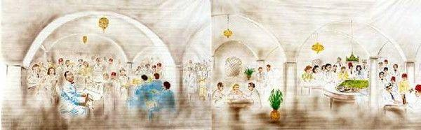 Kulissen mieten & vermieten - Casablanca Kulissen, Kulisse, Casablanca, Dekoration, Marokko, Afrika, Event, Messe, Veranstaltung, leihen, mieten in Lahnstein