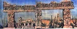 Kulissen mieten & vermieten - Inka Tempel Kulisse, Kulisse, Tempel, Inka, Inkas, Maya, Mayas, Azteken, Dschungel, Südamerika, Tempelanlage in Kamp-Bornhofen