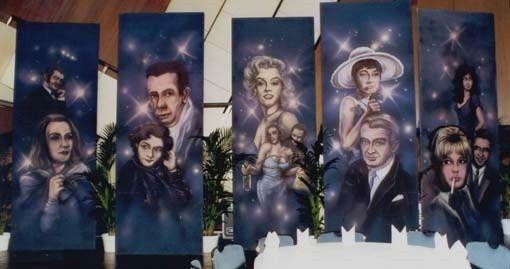 Kulissen mieten & vermieten - Portraits der großen Hollywood Stars in den 50er/60er Jahren Kulisse, Kulisse, Portraits, Hollywood, Schauspieler in Lahnstein