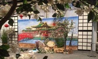 Kulissen mieten & vermieten - Chinesische Tempelanlage Kulisse, Tempel, Tempelanlage, China, chinesisch, japanisch, Japan, Wasser, Asien, Asia in Kamp-Bornhofen