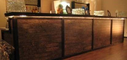 Bar Theke mieten & vermieten - Hafen Theken Bar, Theke, Bar, Hafentheke, Hafen, Hafenbar, Kneipe, Kneipentheke, Bartheke, Holztheke, Dekoration in Kamp-Bornhofen