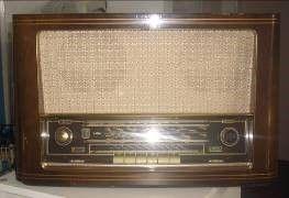 Antik & Rustikal mieten & vermieten - Radio aus den 60er/70er Jahren, 60er Jahre, 70er Jahre, Radio, Oldschool, Dekoration, leihen, mieten, Mietartikel in Kamp-Bornhofen