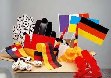 Länder & Flaggen mieten & vermieten - Fußball Fanpaket, Fussball, Fan, Fussballfan, Fußballfan, Fanartikel, Paket, Deutschland, Nationalmannschaft, WM in Lahnstein