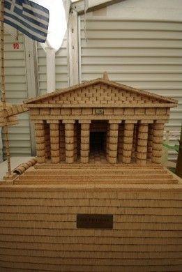 Requisiten mieten & vermieten - Griechisches Pantheon, Pantheon, Griechenland, Antik, Griechisch, Tempel, Tempelanlage, Säulentempel, Dekoration, Event in Kamp-Bornhofen
