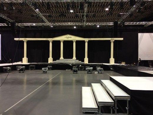 Kulissen mieten & vermieten - Tempel Bühnenbild, Bühne, Bühnenbild, Tempel, Tempelanlage, Griechenland, Griechisch, Antik, Altgriechisch in Lahnstein