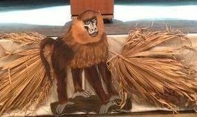 Dekofiguren mieten & vermieten - Affen Cut Outs, Affe, Affen, Äffchen, Kletterer, Kapuziner, Dschungel, Urwald, Tier, Wildtier, Zoo, Afrika, afrikanisch in Kamp-Bornhofen