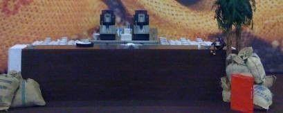 Bar Theke mieten & vermieten - Kaffeebar Element, Kaffee, Bar, Theke, Ausgabe, Cafe, Kaffeeausgabe, Dekoration, leihen, mieten, Leihartikel in Lahnstein