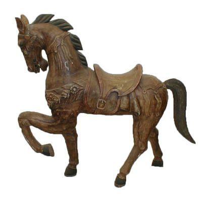 Dekofiguren mieten & vermieten - Karussell Pferde, Karussell, Pferd, Jahrmarkt, Kirmes, Rummel, Messe, Dekoration, Figur, Event, Messe, Veranstaltung in Kamp-Bornhofen