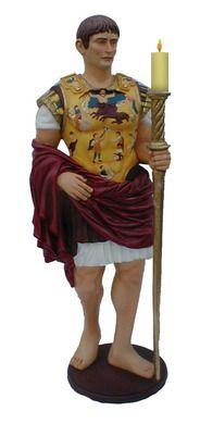 Dekofiguren mieten & vermieten - Kaiser Augustus Figur, Augustus, römischer Kaiser ,Kaiser, Figur, Rom, römisch, Antik, Antike, Italien, Feldherr in Lahnstein