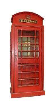 Dekofiguren mieten & vermieten - Telefonzelle England, Telefonzelle, Englisch, England, London, Münztelefon, British, Britannien, Great Britain in Lahnstein