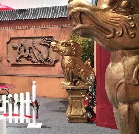 Dekofiguren mieten & vermieten - China Drachenhund , China, Drachenhund, Drachen, China Hund, Japan, Dekoration, Asia, asiatisch, Asien, Event, Messe in Lahnstein