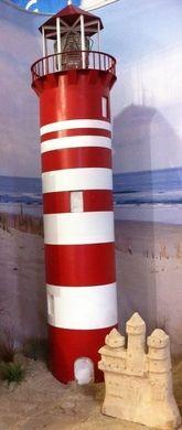 Dekofiguren mieten & vermieten - Leuchtturm XXL, Turm, Küste, Schiff, Leuchter, Strand, Schiffswarnung, Warnturm, Warnlicht, Dekoration, Maritim, Event in Lahnstein