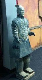 Dekofiguren mieten & vermieten - Terracotta Krieger Figuren, Terracotta, Krieger, Figur, Maya, Azteken, Ming Armee, China, Japan, Asien, Asiatisch in Kamp-Bornhofen