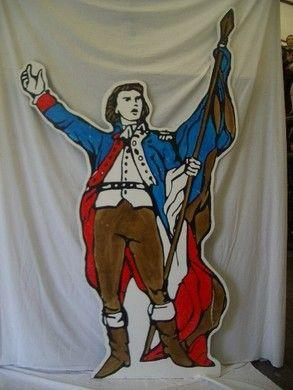 Dekofiguren mieten & vermieten - Französische Revolution Figuren, Frankreich, Robespierre, Jeanne d´Arc, Französisch, Revolution, Bastille in Kamp-Bornhofen