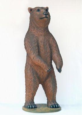 Dekofiguren mieten & vermieten - Braunbär Figur, Bär, Figur, Braunbär, Grizzly, Baer, Braunbaer, Grizzlybaer, Grizzlybär, Tier, Wildtier, Dekoration in Lahnstein