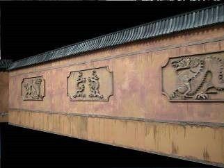 Dekofiguren mieten & vermieten - China Mauer, China, Mauer, Chinesische Mauer, Asien, Asia, asiatisch, Mauer von China, Dekoration, Event, Messe in Lahnstein