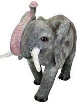 Dekofiguren mieten & vermieten - Elefant Figur, Elefant, Figur, Afrika, afrikanisch, Savanne, Asia, Asien, Indien, indisch, Tier, Wildtier, Dekoration in Kamp-Bornhofen