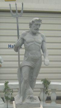 Dekofiguren mieten & vermieten - Neptun Figur, Neptun, Figur, Meer, Meeresgott, Gott, Gottheit, griechisch, römisch, Antik, Mythos, Mythologie, Poseidon in Kamp-Bornhofen