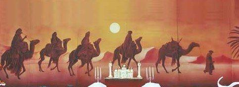 Dekorationsservice mieten & vermieten - Kamel Karawanen Kulisse, Kulisse, Karawane, Kamel, Wüstenschiff, Wüste, Afrika, Ägypten, Nomade, Event, Messe in Kamp-Bornhofen