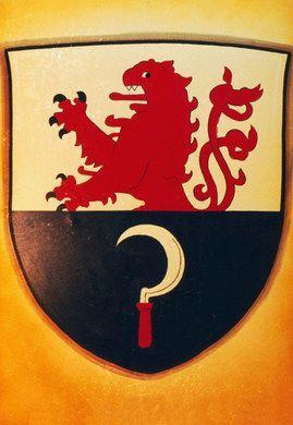 Dekorationsservice mieten & vermieten - Bergische Remscheid Kulisse, Bergisch, Remscheid, Kulisse, Wappen, Remscheidwappen, Wappenschild, Event, Messe in Kamp-Bornhofen