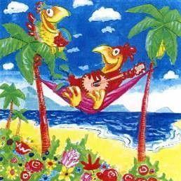Dekorationsservice mieten & vermieten - Karneval Papagei Kulisse, lustig, Karneval, Carneval, Fassnacht, Fassenacht, Fasching, Kulisse, Papagei, Dekoration in Kamp-Bornhofen