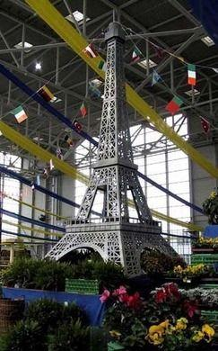 Dekorationsservice mieten & vermieten - Eiffelturm XXL, Eiffelturm, Paris, Frankreich, Stadt der Liebe, France, Dekoration, Event, Messe, Veranstaltung, leihen in Lahnstein