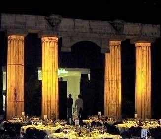 Dekorationsservice mieten & vermieten - Ägyptische Säule mit Architraven Aufsatz, Säule, Säulen, Ägypten, ägyptisch, Architrave, Architraven, Tempel in Lahnstein