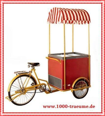 Catering mieten & vermieten - Eiswagen Eisfahrrad in Alsbach-Hähnlein