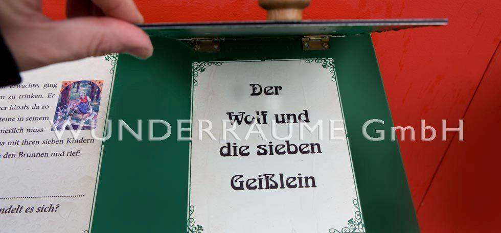 Weihnachtsdekoration mieten & vermieten - GEBRÜDER GRIMM;  FIGUREN,  KULISSEN, DEKO WUNDERRÄUME GmbH vermietet:  in Lichtenstein/Sachsen