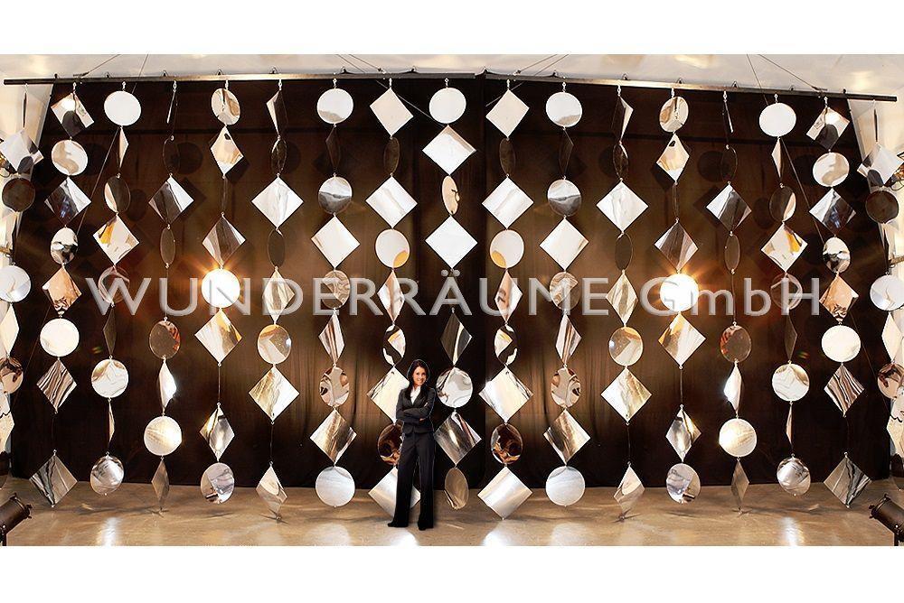 Kulissen mieten & vermieten - Spiegelvorhänge - WUNDERRÄUME GmbH vermietet: Dekoration/Kulisse für Event, Messe, Veranstaltung, Incentive, Mitarbeiterfest, Firmenjubiläum in Lichtenstein/Sachsen