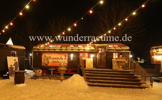 Weihnachtsdekoration mieten & vermieten - Zirkuswagen als Café & Restaurant edel, WUNDERRÄUME GmbH vermietet:  in Lichtenstein/Sachsen