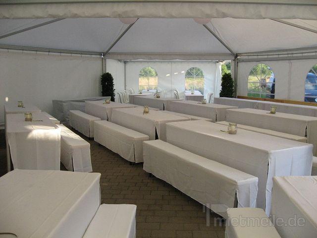 Hussen Set für Festzeltgarnitur / Bierbank mieten - 20,00 EUR pro ...