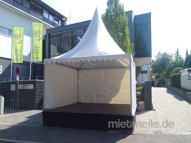 Bühne mieten & vermieten - Bühnenpodest 2x1 m mit Teleskopfüßen in Nufringen