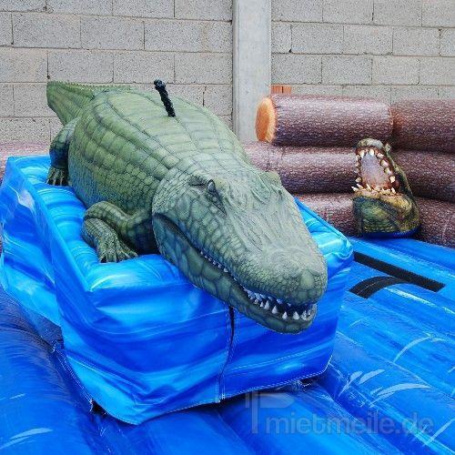 Bullriding mieten & vermieten - Alligator Rodeo in Münnerstadt
