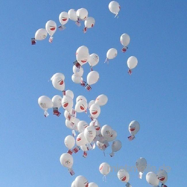 Ballons mieten & vermieten - Ballonweitflugaktion / Heliumballonweitflugaktion inkl. 19% MwSt. in Münnerstadt