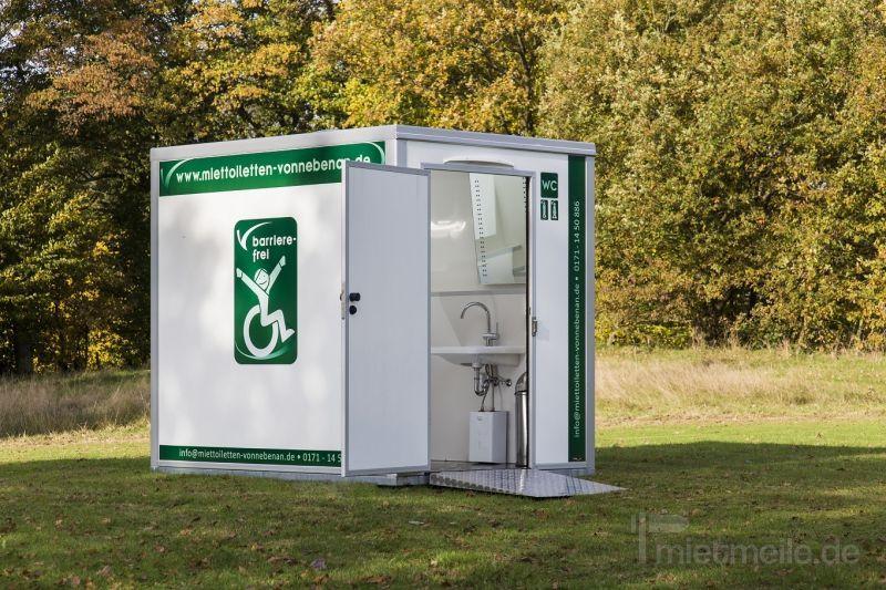Toilettenwagen mieten & vermieten - Toilettenwagen M / Miettoiletten / Event Toiletten in Lütjensee