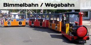 Eisenbahn mieten & vermieten - Bimmelbahn - Wegebahn in Bramsche