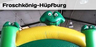 Hüpfburg mieten & vermieten - Hüpfburg - Frosch - Froschhüpfburg in Bramsche