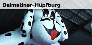 Hüpfburg mieten & vermieten - Hüpfburg - Dalmatiner - Dalmatinerhüpfburg in Bramsche