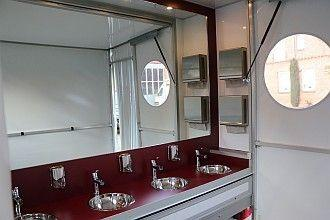 Toilettenwagen mieten & vermieten - Vip Toilettenwagen XXL | 12 Toiletten | 4 Urinale in Bramsche