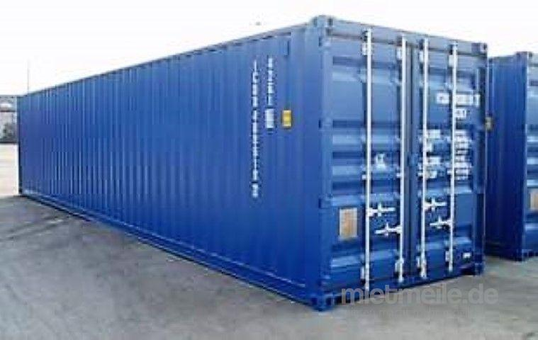 Material- & Lagercontainer mieten & vermieten - 40' Lagercontainer in Düsseldorf