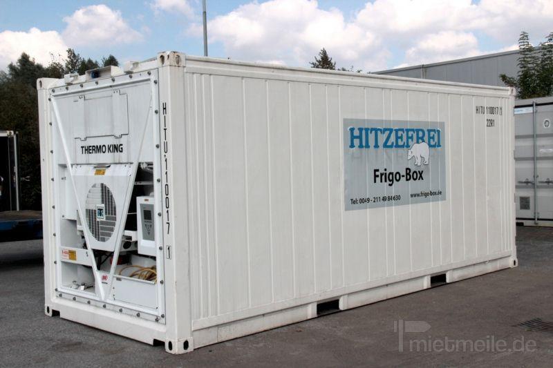 Material- & Lagercontainer mieten & vermieten - 20' Kühlcontainer Frigo-Box in Oberhausen
